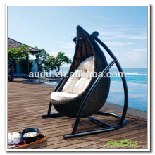 Audu Swing Rattan sillas de mimbre hamaca, hamaca colgante