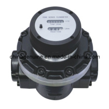 Zcheng Mechanical Display Oval Gear Meter for Oil, Fuel, Diesel Zcogm-a