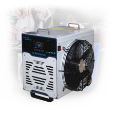 Cryotherapy cold water immersion ice bath chiller for reducing inflammation and speed up athletic recovery