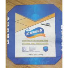 Bolsa de papel Kraft de la válvula para la serie del pegamento del azulejo 20kg