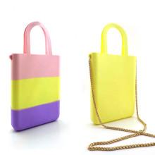 Custom Ladies Silicone Colorful Handbags