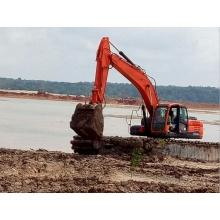 Amphibious Excavator Swamp Backhoe