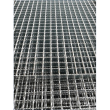 Jimu Hot DIP Galvanized Ms Steel Grating 30X38 Mesh Grid Forge-Welded Serrated Plain Surface