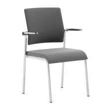Farben-optionales Maschen-Büro, das Stühle / Maschenversammlungsstuhl stapelt