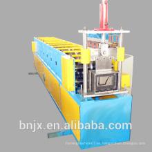 Metal de agua downspout cuneta laminación en frío que forma la máquina