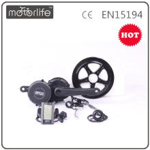 MOTORLIFE / OEM 36V250W bafang 8fun mid kit motor de acionamento para ebike