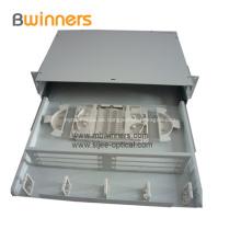 Glasfaserklemmkasten mit Schiebeschublade 24 Anschlüsse