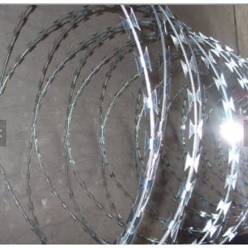 Galvanized Razors Wire Sharp Blade Wire
