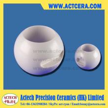 Alta precisión de mecanizado de válvulas de bola cerámica de Zirconia/Dn50 Dn25
