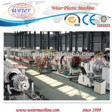 Certificado del CE con la máquina del tubo del HDPE, tubería de PE PP que hace la máquina