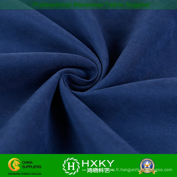 Tissu de polyester de fibre de sergé pour la veste ouatée