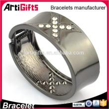 Wholesale one direction wrist band mens bracelets black