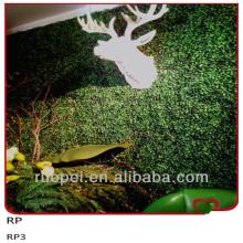 China Dekorative künstliche Buchsbaum-Hecke Indoor / / künstliche grüne Wand