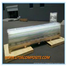Film de polyester non protégé non-corona 23cm pour toiture