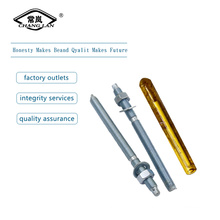 Zinc plated chemical anchor bolt M12