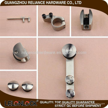 Top quality wall mount fixing glass door accessories,glass hardware fittings,sliding glass door system