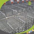 DEBA 2018 pig farm equipment hot galvanized pig gestation crate sow stall