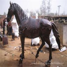 Vida tamanho Bronze estátua do cavalo Washington dc diretamente com fundador