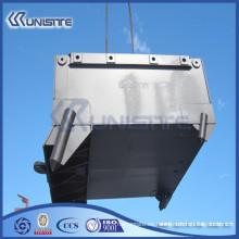 Caja de anclaje de acero personalizada con bloques de lastre (USC10-011)