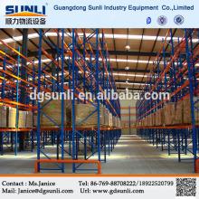Heißer Verkauf China Lieferant Lager Lagerung Palette stapeln Regalsystem