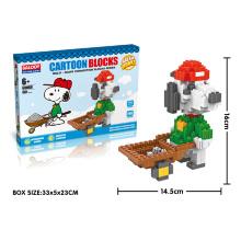 DIY пластиковые строительные блоки Интеллектуальные игрушки (H9537045)