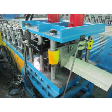 Fast Speed Ridge Capping Cold Roll Forming Machine