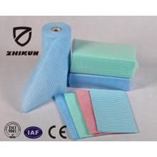 China Wholesale Nonwoven Fabric Spunlace Polyester Fabric Wipe Nonwoven Fabric Laminated
