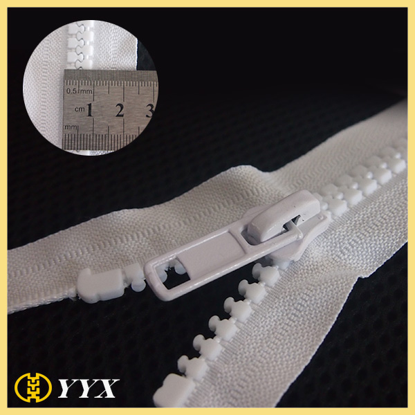 No10 Separating Plastic Zipper