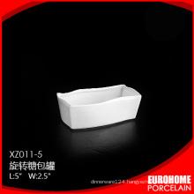 wholesale from china guangzhou pure white fine ceramic sugar pack