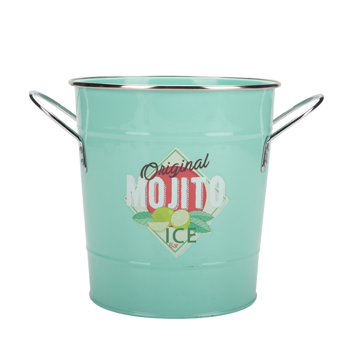 Ice Bucket With Scoop and Handle