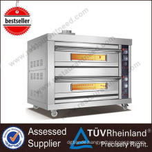 Professional Heavy Duty Gas Or Electric 9-Trays Gas Deck Oven