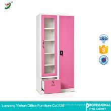 Anti rusty office Steel locker Cabinet with 2 doors