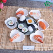Taobao Plat en forme de coeur à sushi haute qualité / plat en céramique