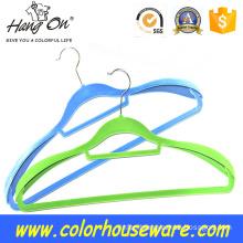 thick shoulder velvet hanger / flocked coat hanger