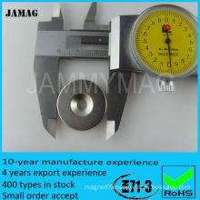 JMCOD15ID5/10H5 Neodymium magnet with countersunk