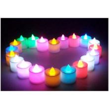 Venta al por mayor Electrónica LED vela luz, romántico día de San Valentín, velas de cumpleaños