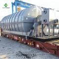 La pyrolyse de pneu perdue de conception la plus chaude et la plus nouvelle à l'usine de pétrole brut avec du CE et de l'OIN