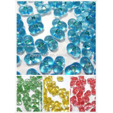 glass beads for jewelry making,popular japan glass beads,smooth beads for jewelry,latest cube glass beads