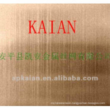 gold wire woven anode/battery/electro/shielding mesh