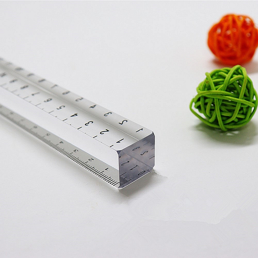 Clear Solid Acrylic Ruler