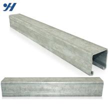 China Supplier Zinc Galvanized Steel C Lipped Channel