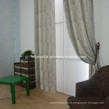 Mais recentes jacquaed flor cortina padrão