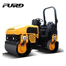 Rouleau d'asphalte à double tambour de moteur diesel de 3000 kg (FYL-1200)
