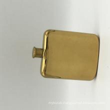 gold  Customize Stainless Steel liquor bottle Portable Whiskey Pocket Hip Flask