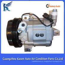Venda quente novo ZXEXL DKV14G compressor elétrico 12v ac para SUBARU