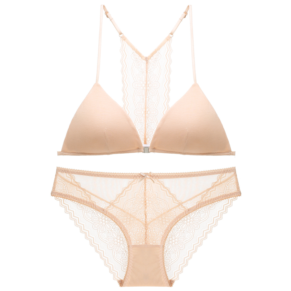 No Wire Soft Cup Bra Sets