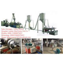 Extrusora de parafuso gêmea cónica / máquina granulada do PVC / máquina plástica da extrusora