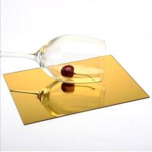 Customized 2mm Acrylic Mirror Sheet Plastic Perspex Mirror Sheet