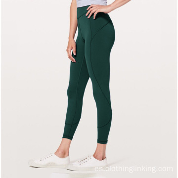 Mujeres Casual Gym Yoga Running Leggings Pantalones