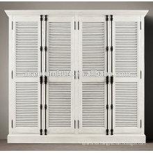 La mejor plantación de la calidad del obturador de la puerta del armario de la puerta diseña los obturadores decorativos interiores de la plantación de China